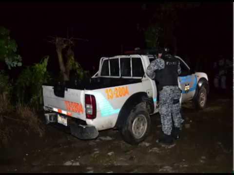 San Vicente, cinco pandilleros fallecieron al enfrentarse a policía en Cantón Candelaria