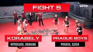 Here is the Fight 5 of the TFC Event 1 Prague Boys (Prague, Czech Republic) vs Korabely (Mykolaev, Ukraine). All videos are...