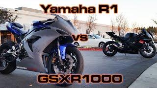 9. R1 vs GSXR1000
