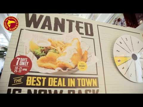 The Manhattan FISH MARKET Malaysia - Best Deal In Town Challenge 2017