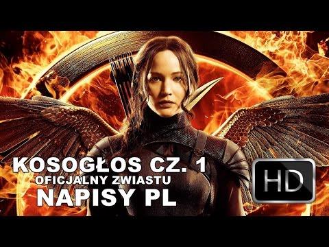 """ZAPRASZAM NA: https://www.facebook.com/jestem.kosoglosem""""Igrzyska śmierci: Kosogłos. Część 1"""" w kinach od 21 listopada!Katniss Everdeen (Jennifer Lawrence) trafia do Dystryktu 13 po tym jak raz na zawsze położyła kres Głodowym Igrzyskom. Pod przewodni"""