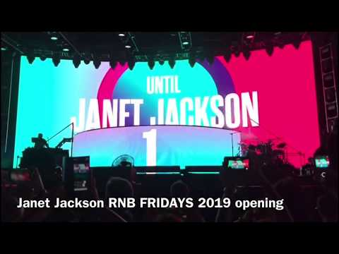 Jenet Jackson - Opening-  (RNB FRIDAYS 2019 Perth Australia)