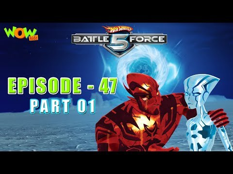 Hot Wheels Battle Force 5 -Blast From The Past - S2 E47.P1 - in Hindi