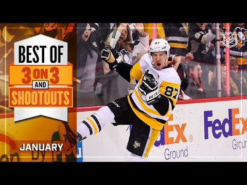 Best 3-on-3 Overtime and Shootout Moments from January | NHL