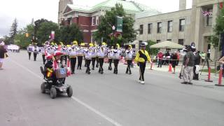Peterborough (ON) Canada  city pictures gallery : The Peterborough Canada Day Parade 2015 - Video 1