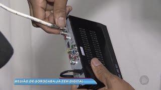 Região de Sorocaba já conta com sinal digital e moradores investem em conversores