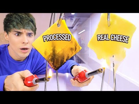 i tested ways to find REAL vs. FAKE FOOD ITEMS