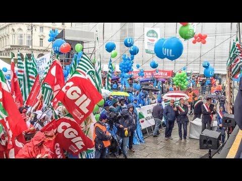 Primo Maggio a Genova