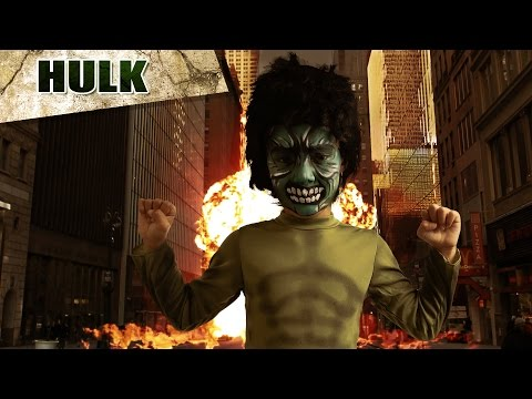 Halloween schmink tutorial Hulk