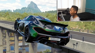 Nonton Insane Custom Mclaren P1    1000hp   Forza Horizon 3 Career With Steering Wheel   Film Subtitle Indonesia Streaming Movie Download