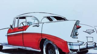 A trip to Orange to view the Hilbert collection of Californian Art at Chapman University with Mike Dutton. I sketched in the old town square and a '56 Chevrolet Bel-Air while Mike painted the old architecture.My digital book collection of gesture drawings is available here: https://gumroad.com/l/MBcyMy digital book collection of café sketches is available here: https://gumroad.com/l/ADscP#My Instagram                      http://www.instagram.com/matt_jonesart/My Art Blog                          http://mattjonezanimation.blogspot.com/Facebook Art Page             http://www.facebook.com/ArtOfMattJones/My Twitter                            https://twitter.com/Jonezee99My GumRoad sketchbook https://gumroad.com/l/ADscP