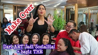 Video Make Over!!! Dari ART Jadi Sosialita! + Bagi-Bagi THR MP3, 3GP, MP4, WEBM, AVI, FLV Juni 2019