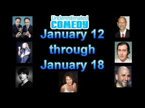 This Week in Comedy History Jan 12 - Jan 18