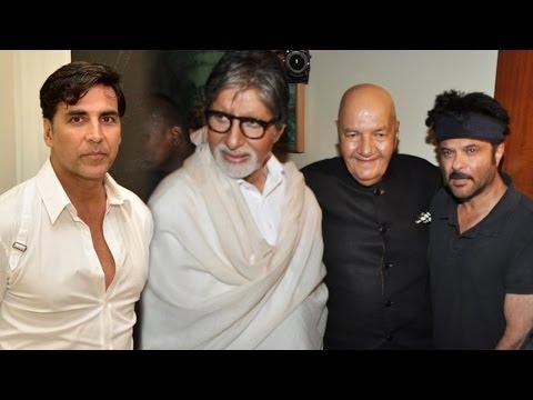 Big B, Akshay Kumar, Anil Kapoor, Manoj Kumar Laun