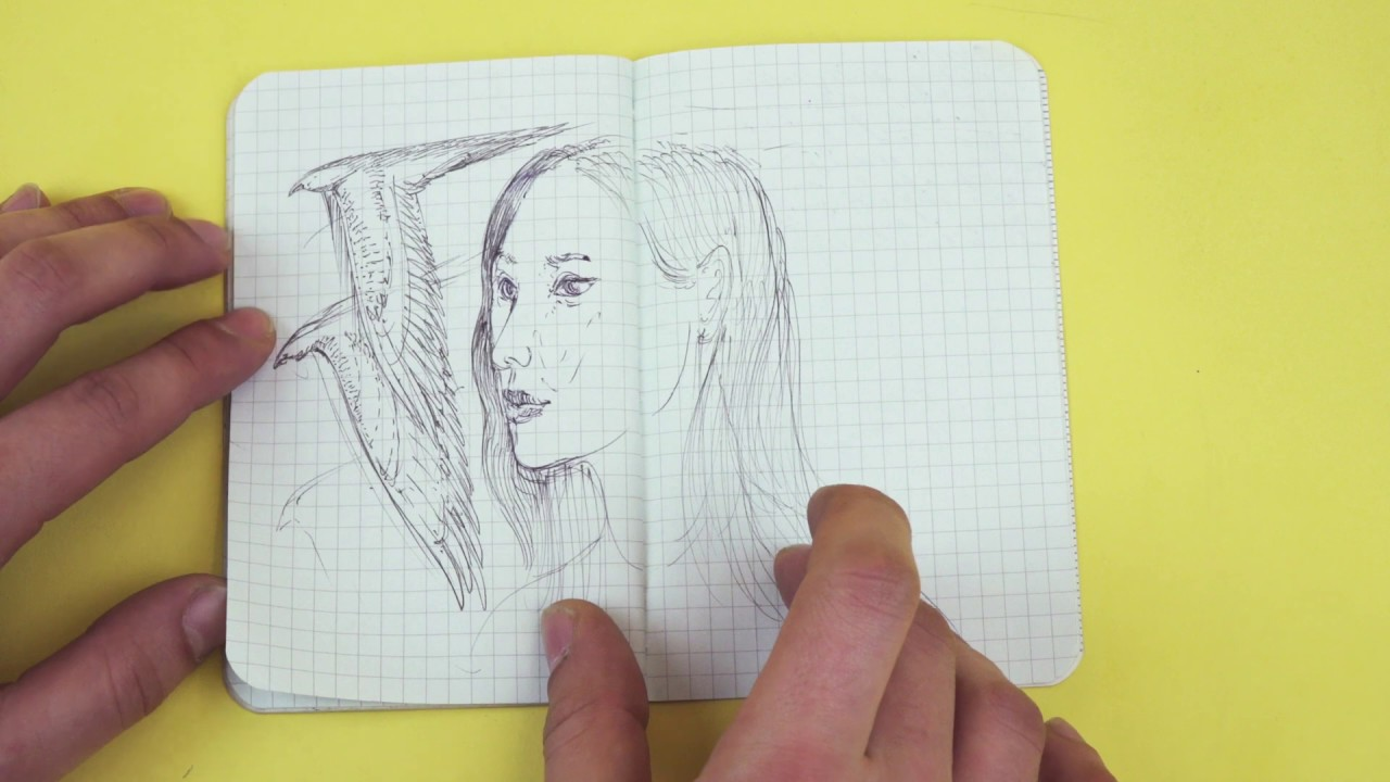 Marc Aquino-Michaels shows us his sketchbook