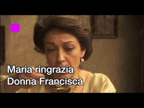 il segreto - maria dice addio a donna francisca!