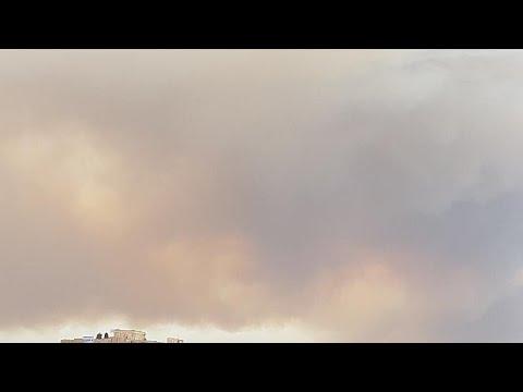 Πύρινη «κόλαση» στην Κινέτα – Κάηκαν σπίτια και στην Πεντέλη (Vid)…