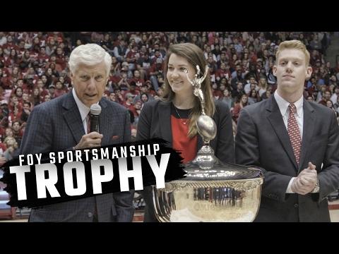 Watch Alabama accept its third straight Iron Bowl trophy