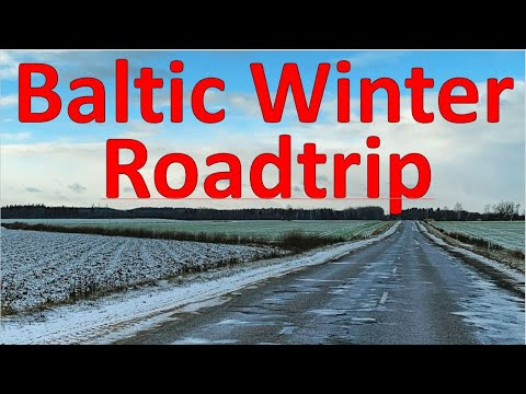 A freezing roadtrip to every Baltic country