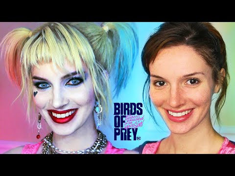 Harley Quinn (Birds of Prey) Makeup / CostumeTransformation