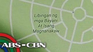 image of Bandila: Pangalan ng Libingan ng Mga Bayani sa Google Maps, pinalitan