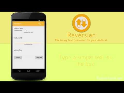 Video of Reversian
