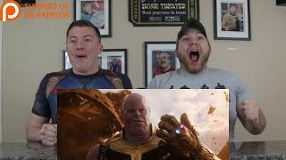 Video Avengers: Infinity War Official Trailer REACTION!!! MP3, 3GP, MP4, WEBM, AVI, FLV Januari 2018