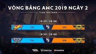 Vòng bảng giải đấu AWC 2019 - Bảng B - Ngày 2 - Garena Liên Quân Mobile