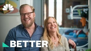 How Jeanine And Jim Gaffigan Battled Cancer With Comedy | Better | NBC News