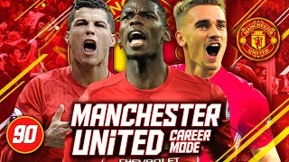 FIFA 17 Career Mode: Manchester United #90 - Manchester Derby