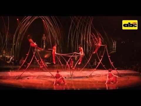 El estreno del Cirque du Soleil en Paraguay