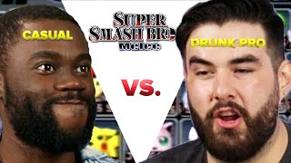 Video Regular Person Tries To Beat A Drunk Pro Gamer In Super Smash Bros Melee MP3, 3GP, MP4, WEBM, AVI, FLV Oktober 2018