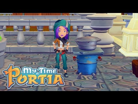 Cooking With Shelab! - My Time At Portia (Alpha 9.0) – Part 298