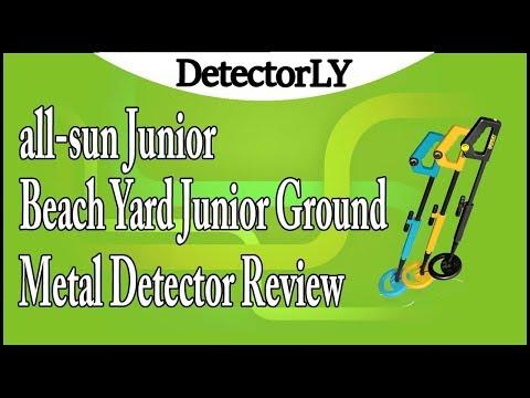 all-sun Junior Metal Detector Beach Yard Junior Ground Metal Detector Review