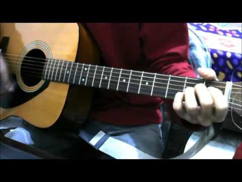 Tose Naina – 2 chords + 1 more song – Arijit Singh – Guitar cover lesson chords bollywood
