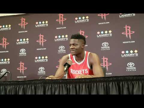 Clint Capela - Houston Rockets Media Day 2018