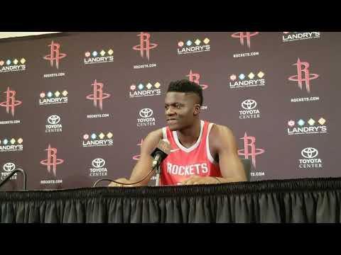 Clint Capela - Houston Rockets Media Day 2018