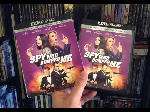 The Spy Who Dumped Me 4K BLU RAY REVIEW + Unboxing