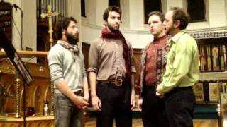 "American male quartet singing a traditional Sardinian ""Cantu a Tenore"" folk song, ""Ballu Dillu (A Sa Campagna)."" We learned this ..."