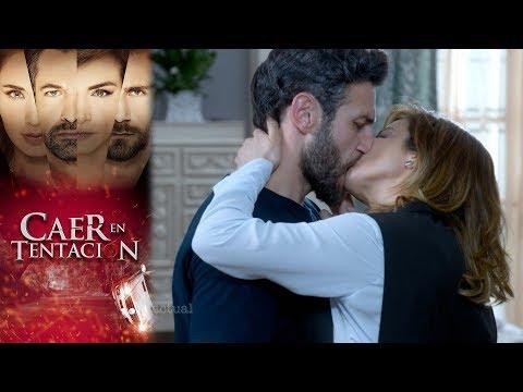 Raquel le ofrece su apoyo a Santiago   Caer en tentación -Televisa