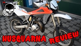 3. Husqvarna sm 125 2Stroke Review+Edit [German/Deutsch]
