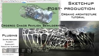 Video Flowify Shape Bender Voronoi Curviloft SketchUp Organic Architecture MP3, 3GP, MP4, WEBM, AVI, FLV Desember 2017