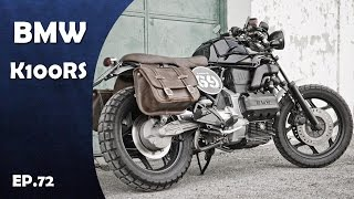 """More:https://goo.gl/1622kv"""" Click below to Subscribe for more video """" :https://goo.gl/aNL7McAudio:https://www.youtube.com/audiolibrary/musicBMW K100RS Motorcycles Produced in 1983-1989. BMW's first new engine design in 60 years, nicknamed """"the Flying Brick,"""" won Motorcycle of the Year awards across Europe and the U.S. This engine, which was used in the model BMW K100rs. The K series bikes were hefty, weighing between 540 and 600 pounds wet--but still lighter than their Japanese touring bike competition. Their purposeful design attracted customers in droves, all over the world. AND BMW K100RS is classic street touring sport bike in BMW Motorcycles series."""