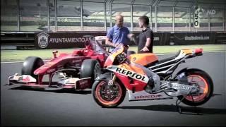 Video f1 vs motogp (El coche y la moto más rápidos del mundo) MP3, 3GP, MP4, WEBM, AVI, FLV Juli 2018