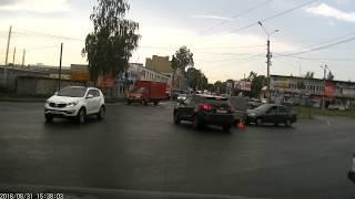 ДТП  Подборка на видеорегистратор за 31.08.2018 Август 2018 Кострома