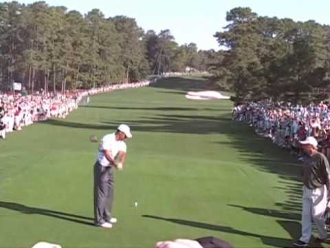 Part 2 – Tiger Woods & Fred Couples Masters Practice Round 2010
