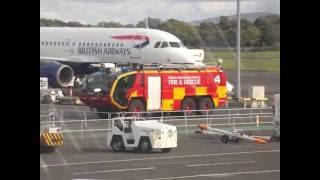 Aldergrove United Kingdom  City pictures : RARE!! DIVERTED Briish Airways Aibus A320 G-EUPW divert into Aldergrove