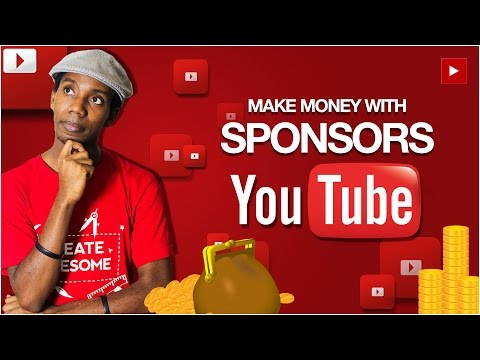 How To Make Money With YouTube Sponsorship