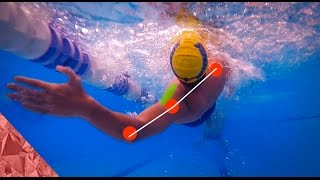 Backstroke swimming technique | Rotation | Swim faster