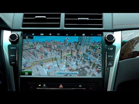 Android на Toyota Camry Exclusive с Яндекс картами и навигацией